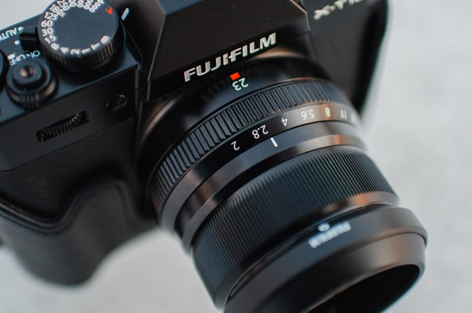 Fujifilm X-T10 + XF23/f2 R WR