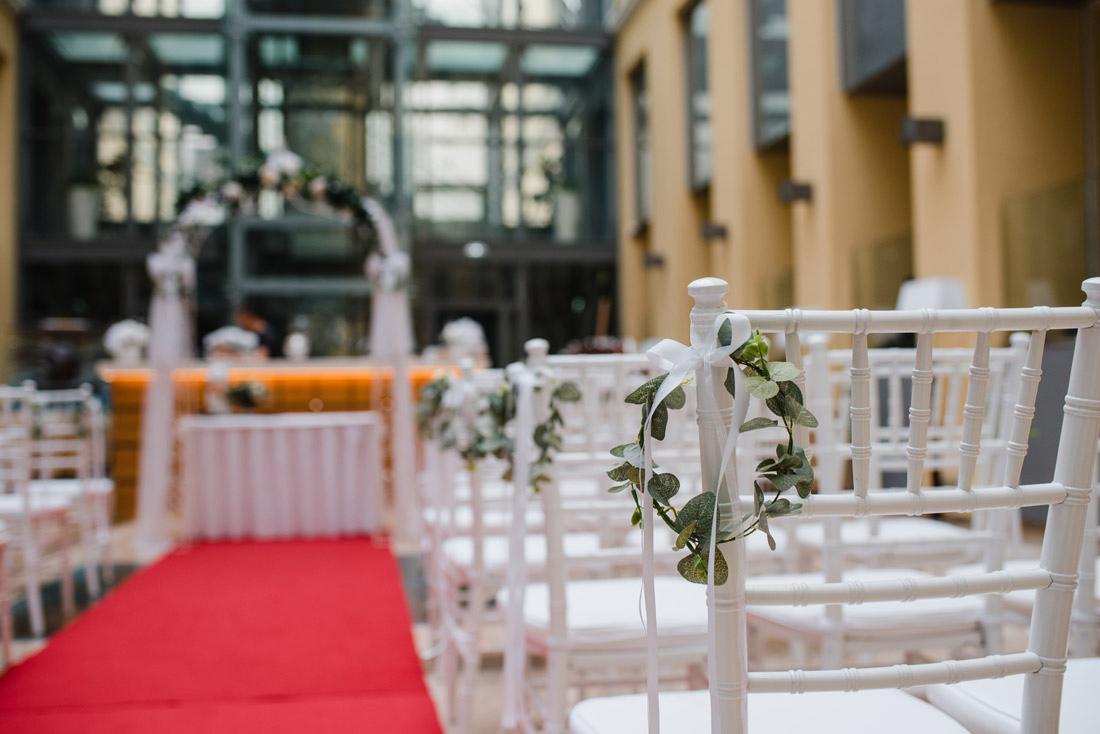 svadba hotel Elizabeth Trencin vyzdoba V Siedmom Nebi